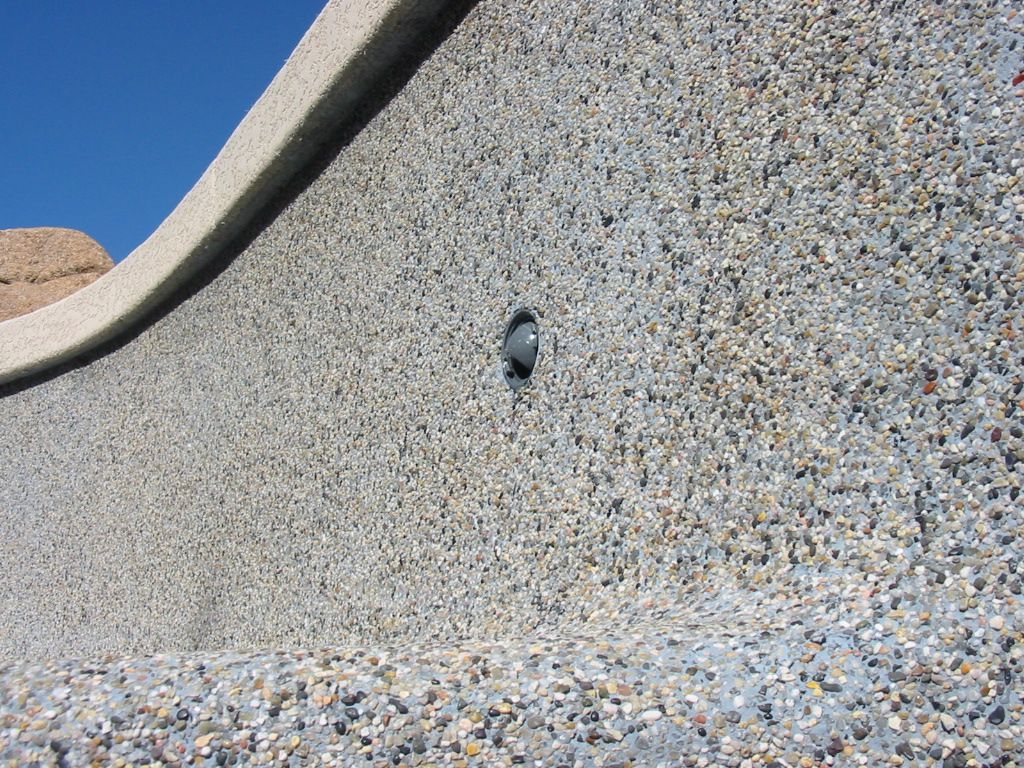 Pebble tec surfacing m j plastering for Pebble finishes for swimming pools